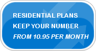 Residential Plans - Keep Your Number - from 10.95 per month